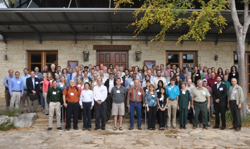 Photo credit: 2011 Texas Invasive Plant and Pest Conference group photo from texasinvasives.org