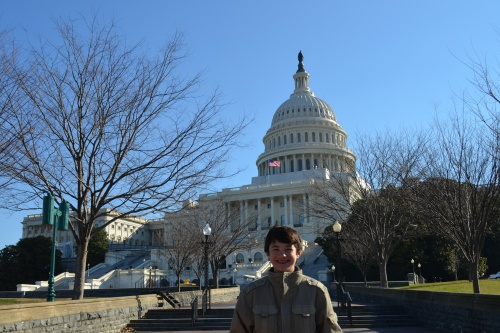 Commander Ben Goes to Washington