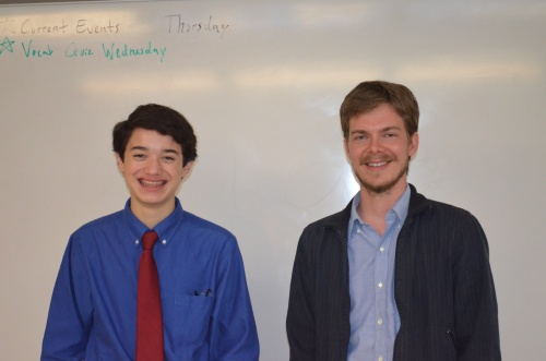 Commander Ben and Rawson Saunders Science Teacher, Mr. Jacob Hendrickson
