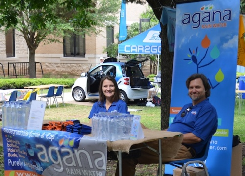 Agana Rainwater at St. Edward's Earth Week celebrations