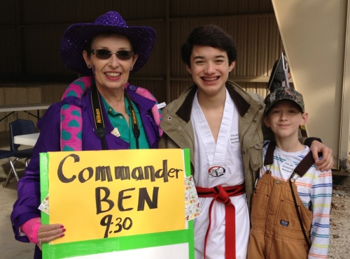 Commander Ben's a featured festival presentation at 9:30 a.m. with the Invasive Hunter Academy going on all day.