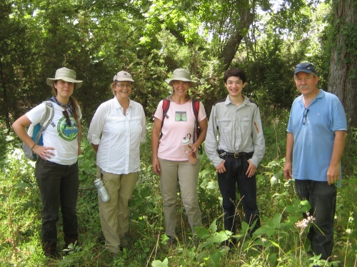 We had a great time as Austin citizen scientist volunteers to help identify invasive species