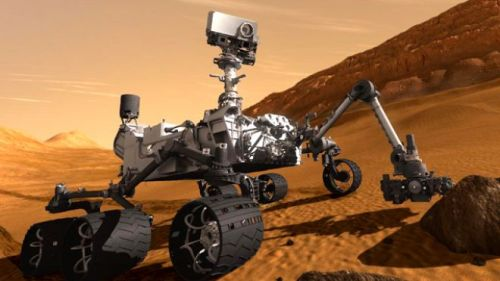 Mars Science Laboratory Curiosity rover (Image credit: NASA/JPL-Caltech)
