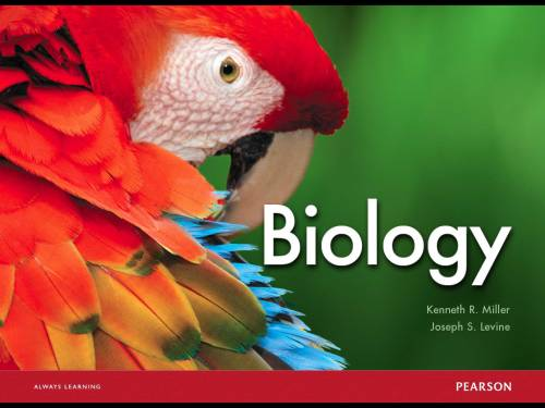 Miller and Levine Biology book on the iPad - A must!