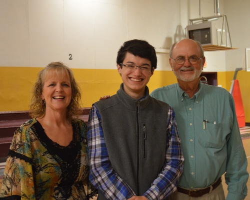 Principal Ruth Davenport, Commander Ben, and Dr. John Pruett