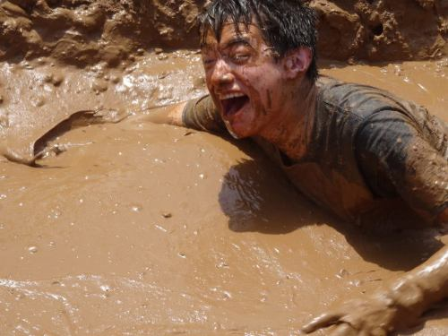 I still cant believe I was in so much mud.