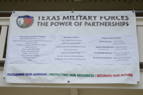 Texas Military Forces: The Power of Partnerships. What an honor to be listed with a lot of great nature organizations!