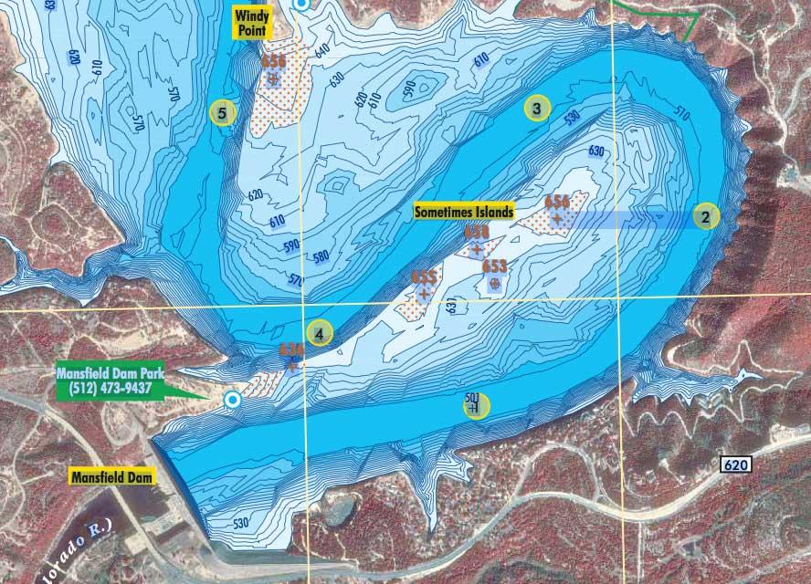 lake travis texas map Sometimes Islands Commander Ben lake travis texas map