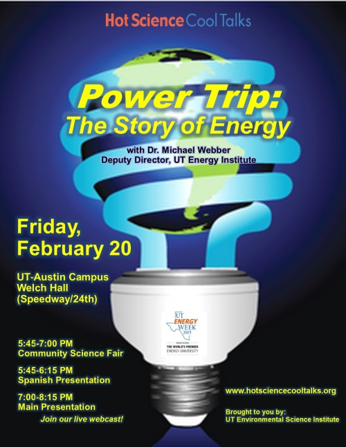 Power Trip: The Story of Energy (Image credit: UT Austin Environmental Science Institute)