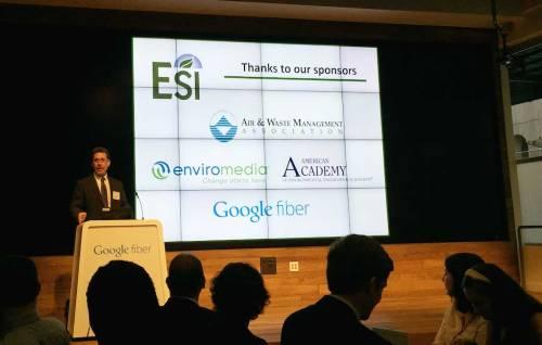 Dr. Jay Banner thanked the UT ESI dinner sponsors.