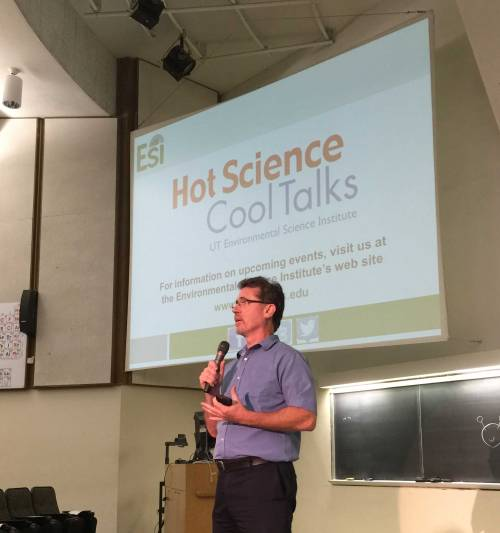 Dr. Jay Banner talks about Hot Science - Cool Talks