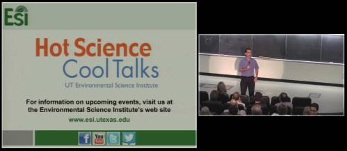 Watch Hot Science - Cool Talks live or as a webcast replay